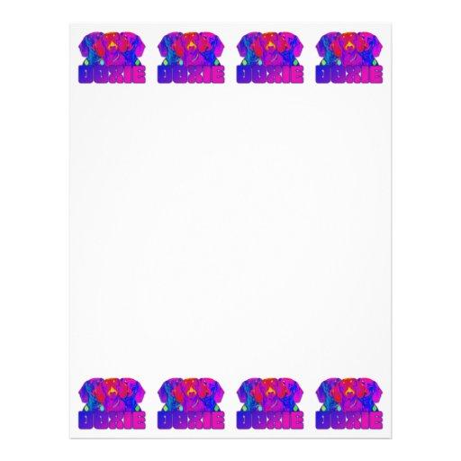 Op Art - Doxie Personalized Letterhead
