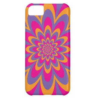 Op Art Flower iPhone 5C Cover