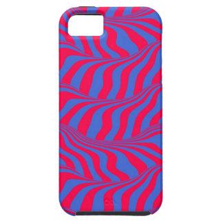 Op Art Flowing Stripes 01 02 155 156 272 Seamless iPhone SE/5/5s Case