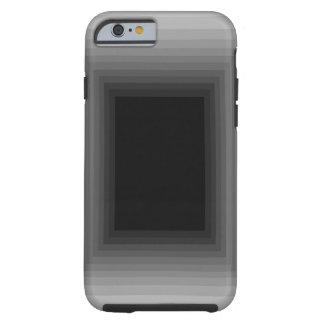 Op Art Grey Silver Black Unusual iPhone6 Case