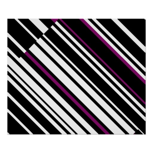 Diagonal Line In Art : Op art homage to gf diagonal lines two print zazzle