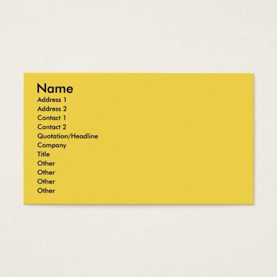 Op Art Pitbull Business Card