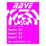 Op Art Rave Custom Flyer