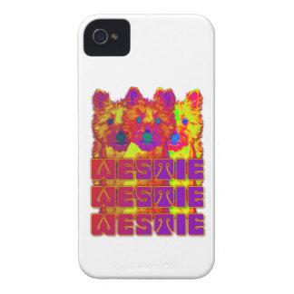 Op Art - West Highland Terrier Case-Mate iPhone 4 Cases