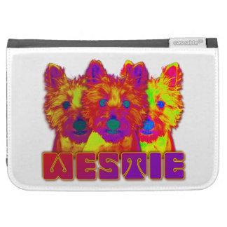 Op Art - West Highland Terrier Kindle 3G Cover