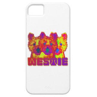 Op Art - West Highland Terrier iPhone 5 Cover