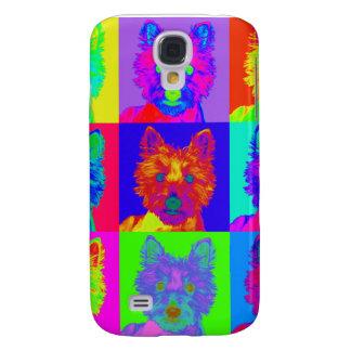Op Art - West Highland Terrier Galaxy S4 Cases