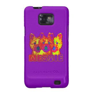 Op Art - West Highland Terrier Samsung Galaxy S2 Covers