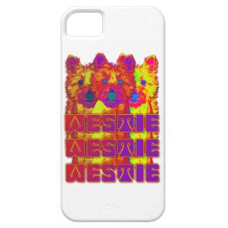 Op Art - West Highland Terrier iPhone 5 Case