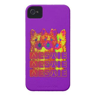 Op Art - West Highland Terrier iPhone 4 Covers