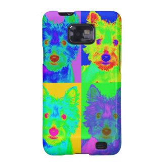 Op Art - West Highland Terrier Galaxy S2 Case