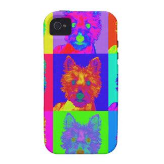 Op Art - West Highland Terrier iPhone 4 Case