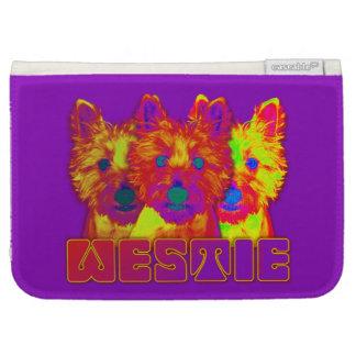 Op Art - West Highland Terrier Kindle Keyboard Covers