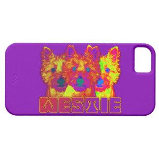 Op Art - West Highland Terrier iPhone 5 Covers