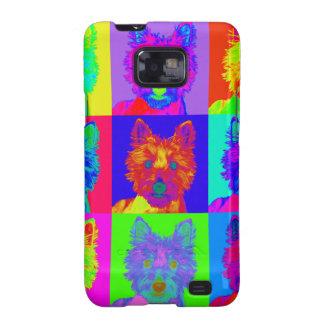 Op Art - West Highland Terrier Galaxy S2 Covers