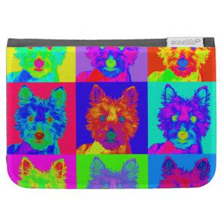 Op Art - West Highland Terrier Kindle 3 Cases