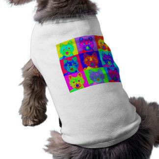 Op Art - West Highland Terrier Dog Tee
