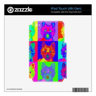 Op Art - West Highland Terrier iPod Touch 4G Decals