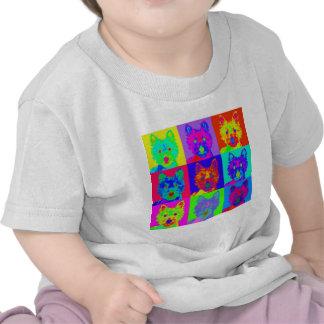 Op Art - West Highland Terrier T Shirt