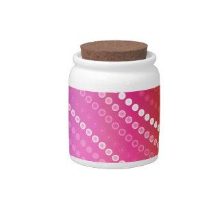 OP Wavy Candy Jar