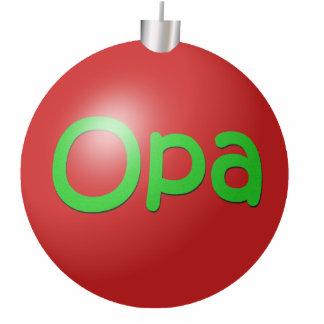 Opa Christmas Ornament