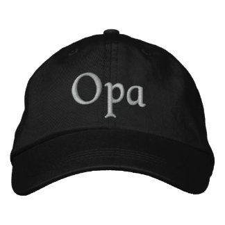 Opa Embroidered Cap