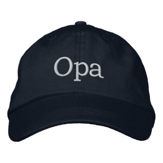 Opa Embroidered Hat