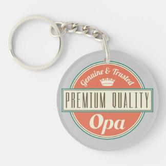 Opa (Funny) Gift Keychain