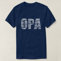 Opa Grandpa Father's Day Gift T-Shirt