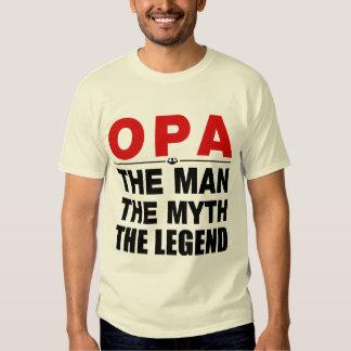 Opa The Man The Myth The Legend T-shirt