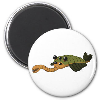 Opabinia 2 Inch Round Magnet