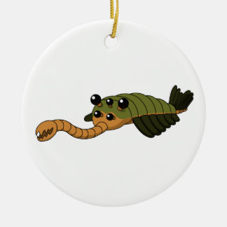 Opabinia Ceramic Ornament