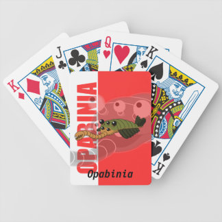 Opabinia Playing Cards