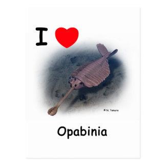 Opabinia Postcard