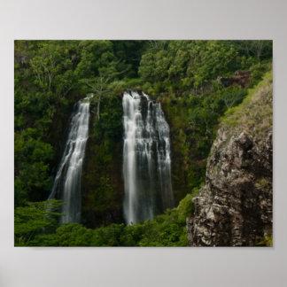Opaeka'a Falls, Kauai, Hawaii Poster Print