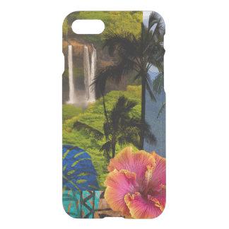 Opaeka'a Falls, Kauai Hawaiian Collage iPhone 8/7 Case