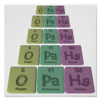Opahs-O-Pa-Hs-Oxygen-Protactinium-Hassium.png Posters