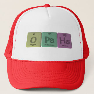 Opahs-O-Pa-Hs-Oxygen-Protactinium-Hassium.png Trucker Hat