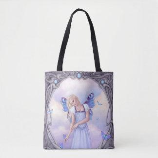 Opal Birthstone Fairy AllOver-Print Tote Bag