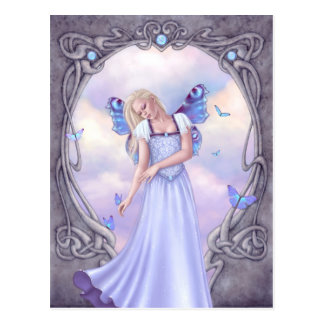 Opal Birthstone Fairy Postcard