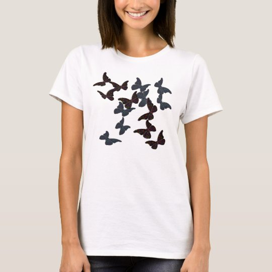 """Opal"" Butterflies in Flight T-Shirt"