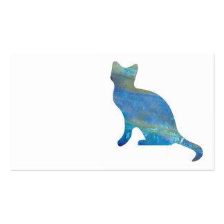 Opal Cat Business Cards
