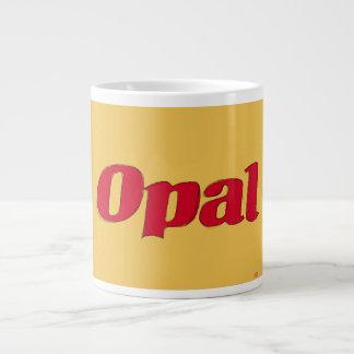 Opal from 1970s 1980s Opal Fruits wrapper Giant Coffee Mug