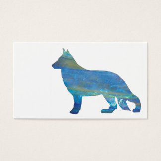 Opal German Shepherd Business Cards