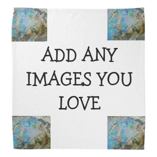 Opal Handkerchief Create Your Own Gems of a Design Bandana