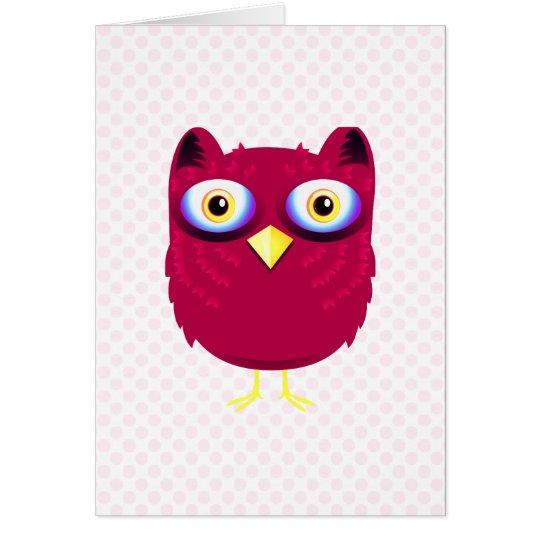 Opal Owl Card
