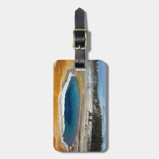 Opal Pool Luggage Tag
