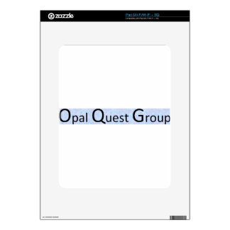 Opal Quest Group Decal For iPad