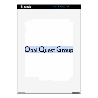 Opal Quest Group iPad 2 Decals