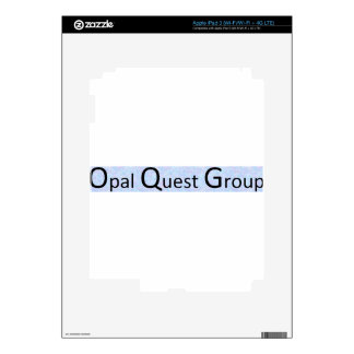 Opal Quest Group iPad 3 Decal